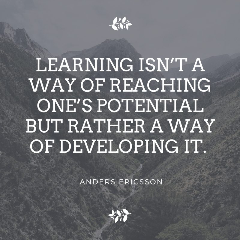 Quote by Anders Ericsson